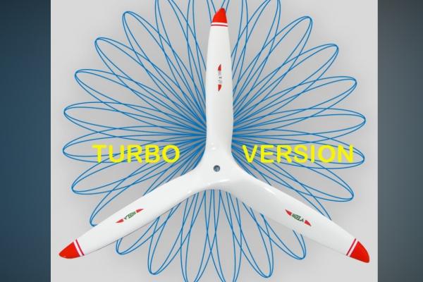 Biela 26x14D 3-Blade Carbon Fiber Propeller Turbo Version (Pre-order Only) GST Inc (AUS Warehouse)