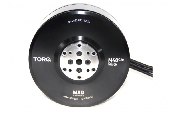 MAD M40 C30 50KV 70kg Thrust Motor for UAV Drone (A pair) Free Air Shipping (Global Warehouse)