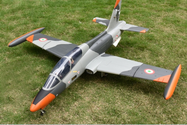 AEROFOAM 1600mm Italian Air Force MB-339 Jet PNP Turbine Version w/JP E/Retracts/Brake (Global Warehouse)