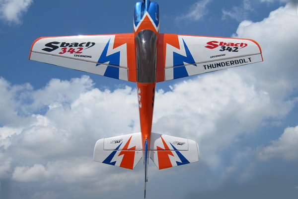89 inch SBACH-342 CF Version 3D Plane OR WITH COMBO (Global Warehouse)